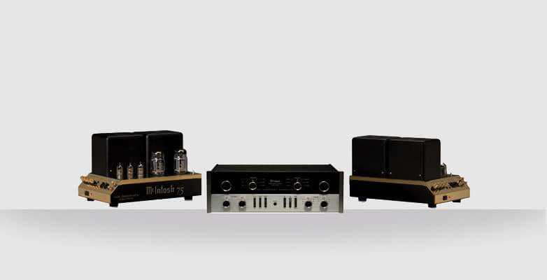 C22 Tube Preamplifier and pair of MC75 Tube Monoblock Power Amplifiers
